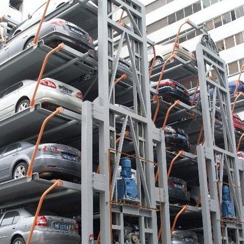 垂直循环类立体车库